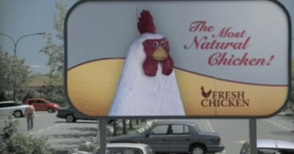 Foster Farms Chicken in Transformation Spoof