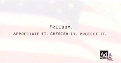 Ad Council Campaign for Freedom