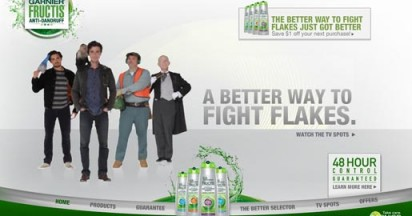 Garnier Fructis Fighting Flakes the Better Way