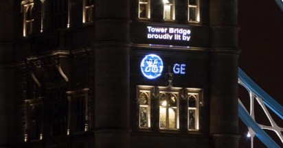 GE and EDF Light London Tower Bridge