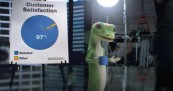 Geico Gecko Behind the Scenes