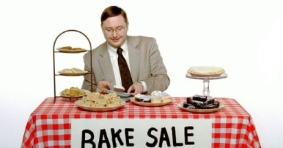 Apple Get a Mac Bake Sale