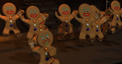 Gingerbread Haka