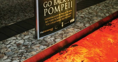 Go Back to Pompeii with Visa