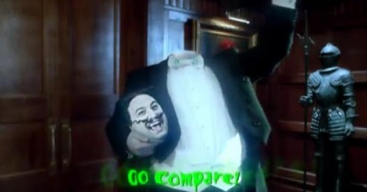 Go Compare Headless for Halloween