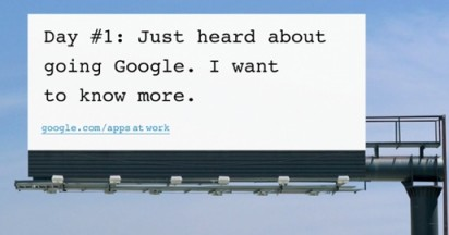 Going Google Billboards and Posters