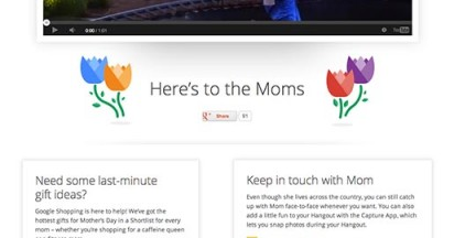 Google Here's To The Moms