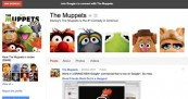The Muppets Google+ Hangout