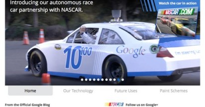 Google Self Driving Car at NASCAR