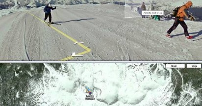 Google Snowmobile on Whistler Blackcomb