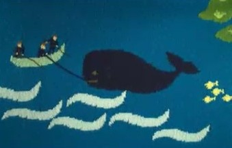 Greenpeace Stop Whaling with Knitting