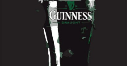 Guinness found in Romanian Irish Pub on St Patrick's Day