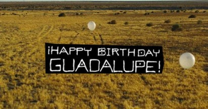 Happy Birthday Guadalupe