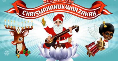 Happy Chrismahanukwanzakah Songs from Virgin Mobile