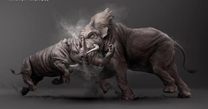 Harvey Nichols Elephant vs Rhino