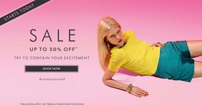 Harvey Nichols Contain Your Excitement