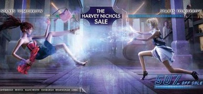 Harvey Nichols Sale Fighters