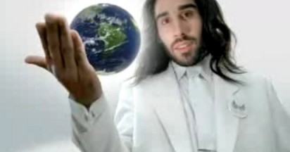 Jesus in MTV Campaign from Heaven