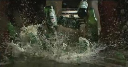Heineken creates Disturbance