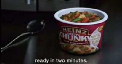 Heinz Soup Quickie in Two Minutes