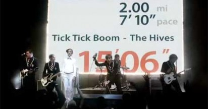 The Hives Tick Tick Boom For Nike Finish Line