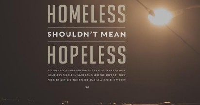 Homeless not Hopeless in San Francisco