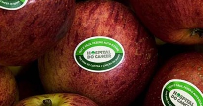 Breast Cancer Checks Promoted in Supermarket Fruit Stands