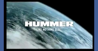 Hummer TV Commercials