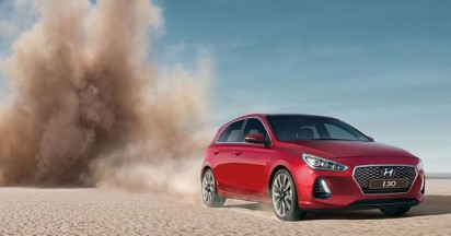 Hyundai i30 Reinvented with Fall to Earth