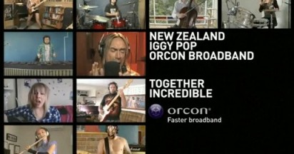 Iggy Pop and Orcon Broadband Together Incredible
