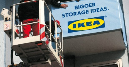 IKEA Bigger Storage Ideas on Frankfurt Balcony