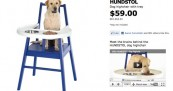 IKEA Hundstol Dog Chair