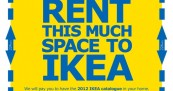 IKEA Catalogue Space Rent