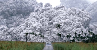 Daily Inquirer Volcanic Ash in Philippines