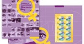 International Womens Day Stamp