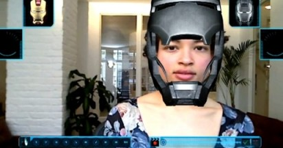 I Am Iron Man 2 in Augmented Reality