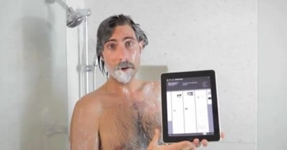 The New Yorker iPad App as used by Jason Schwartzman