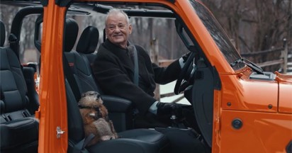 Jeep Groundhog Day with Bill Murray