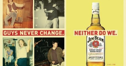 Jim Beam Billboard Guys Never Change
