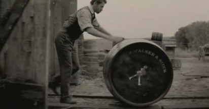 Johnnie Walker Striding Man Through 100 Years