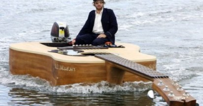 Josh Pyke on his Guitar Boat