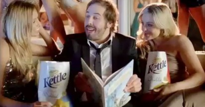 Kettle Chips Unashamedly Commerce Parading as Entertainment
