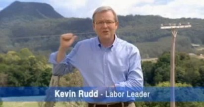 Kevin Rudd and Labor Vision for Australia
