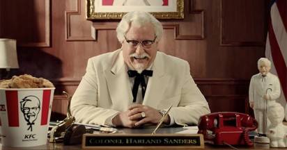 KFC Colonel Sanders Returns to America