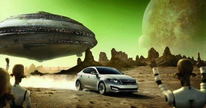 Kia at Super Bowl with One Epic Ride