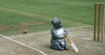 Flintoff Deals With Koala Box for Ashes