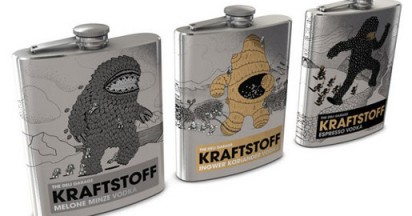 Kraftstoff Vodka Design