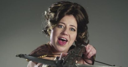 Kristen Schaal on Sony Ericsson Xperia Play