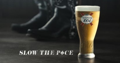 Kronenbourg 1664 Slow the Pace