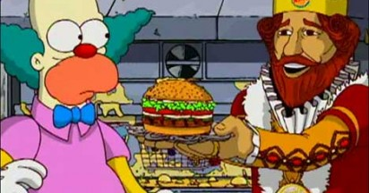 Krusty vs Burger King